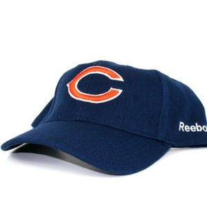 Chicago Bears Classic Navy Strapback Hat Cap
